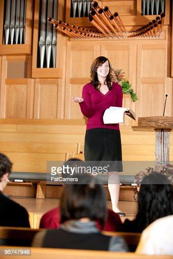 Female preacher