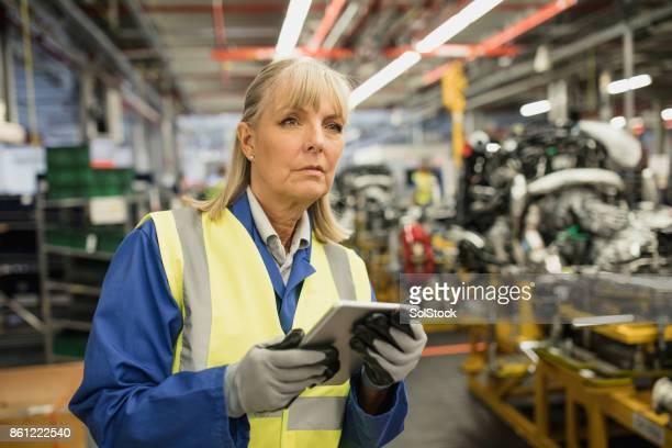 Female Production Line Surveyor