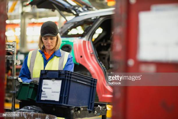 Female Production Line Worker