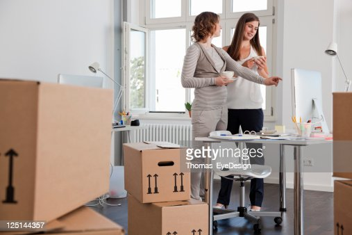 Female Professionals In A New Office Stock Photo | Getty Images