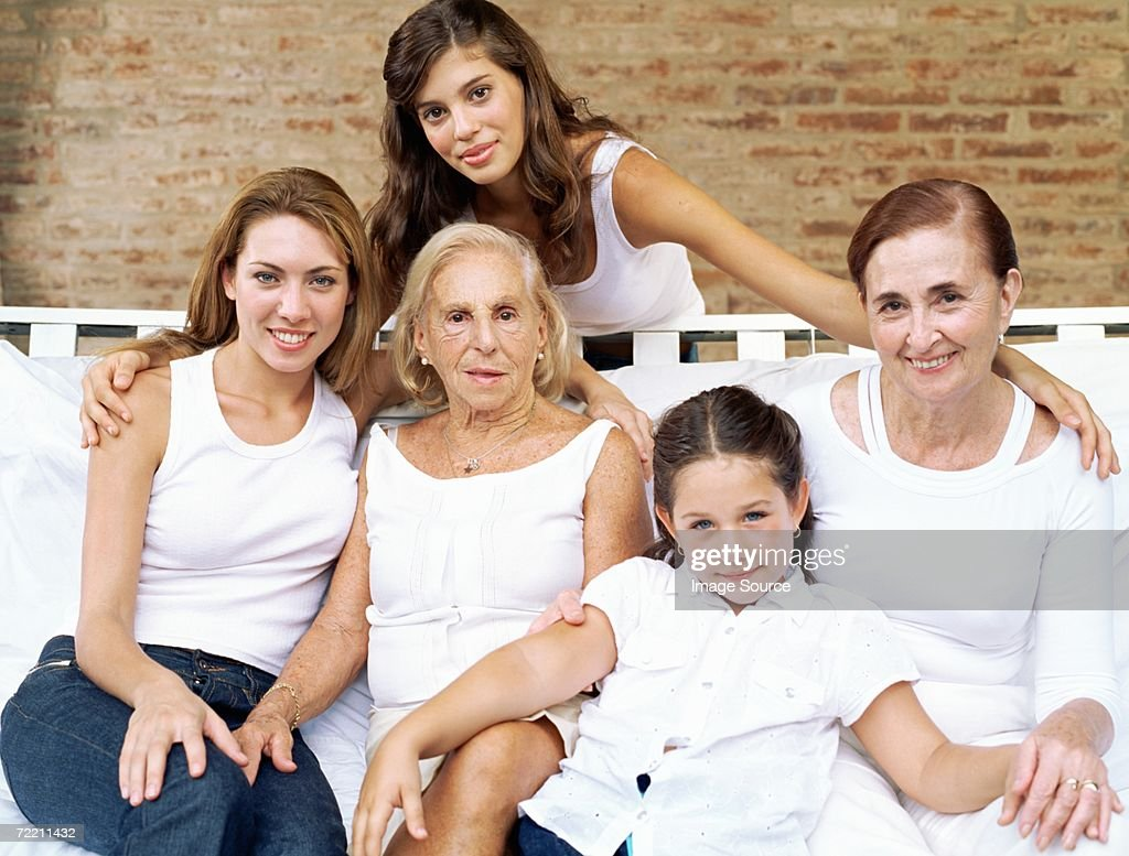 Female relatives : Stock Photo
