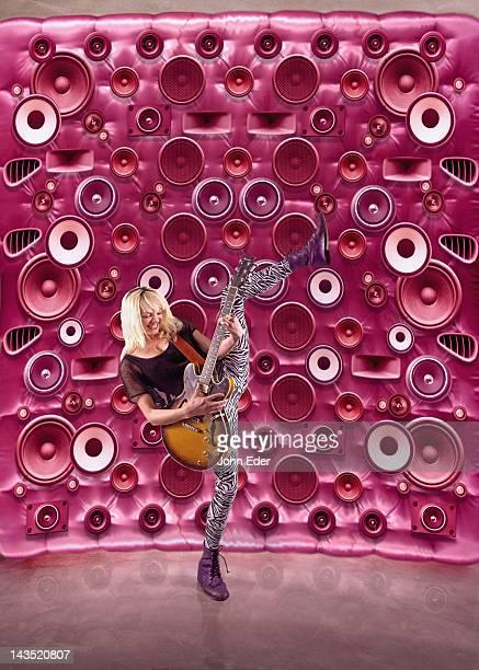 Female Rocker With Speakers