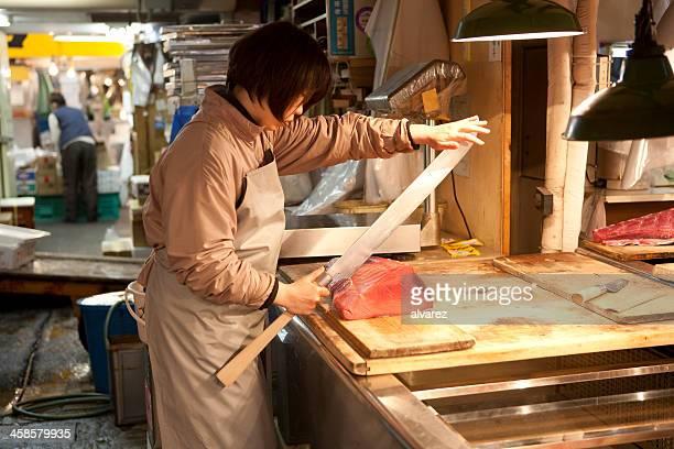 雌シーフードマーチャント東京 Fishmarket