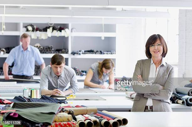 Female small business owner - woman manager