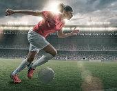 Female Soccer Superstar