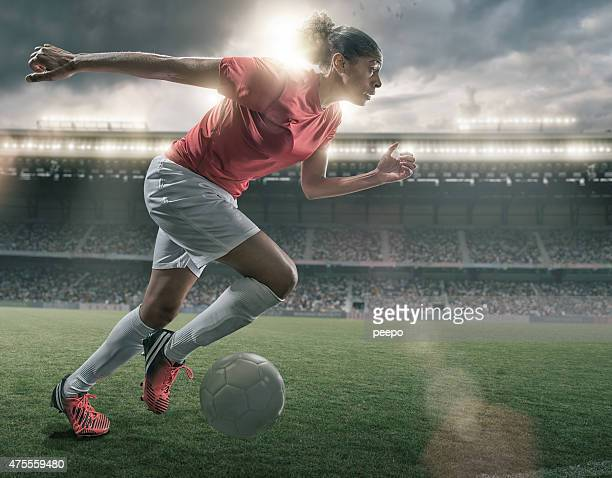 Female Soccer Superstar