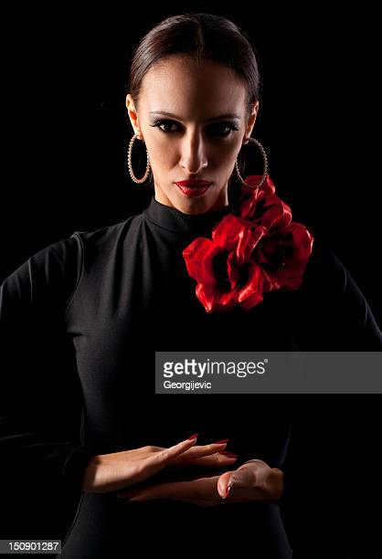 Female spanish dancer