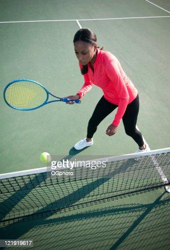 Female tennis player : Stock Photo