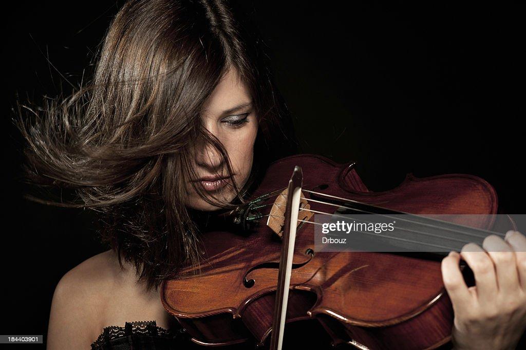 Female violist