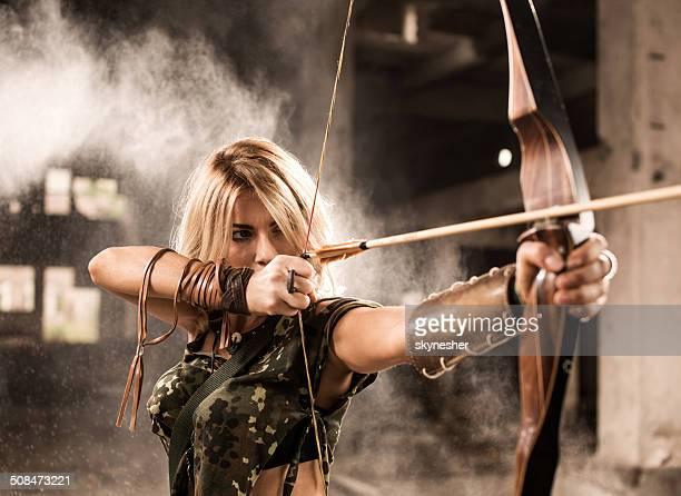 Female warrior.