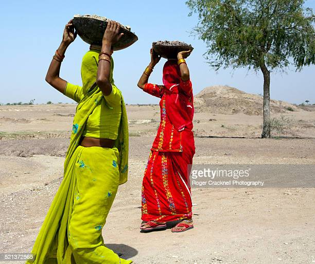 Female workers in Rajasthan India