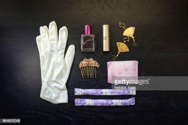 Feminine products.