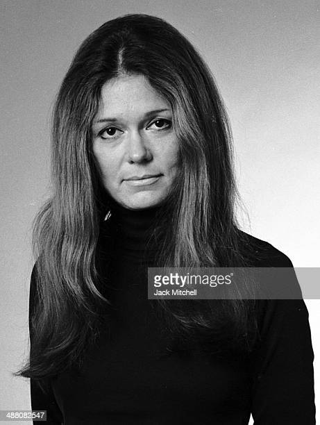Feminist and author Gloria Steinem photographed in October 1975