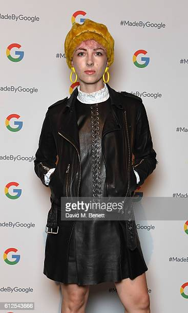 Femme attends the launch of Google's new phone 'Pixel' with an exclusive live performance from Craig David in front of a starstudded audience on...