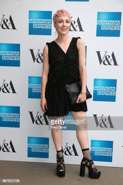 Femme attends The VA Opens Spring 2017 Fashion Exhibition Balenciaga Shaping Fashion at The VA on May 24 2017 in London England