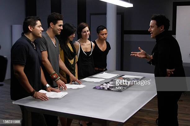 COLLECTION 'Femme Fatale' Episode 203 Pictured Contestants Eduardo de las Casas David Caldwell Rolando 'Ro' Tamez Dominique Pearl David Calvin Tran...