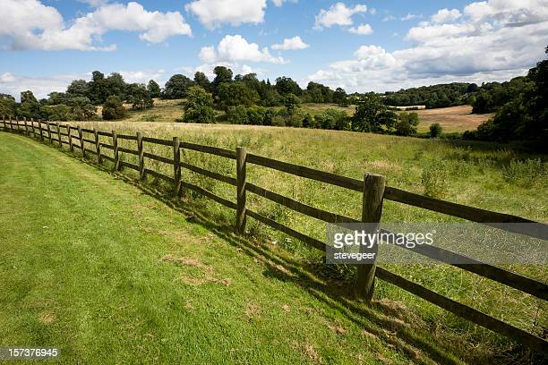 Fence and Field in England