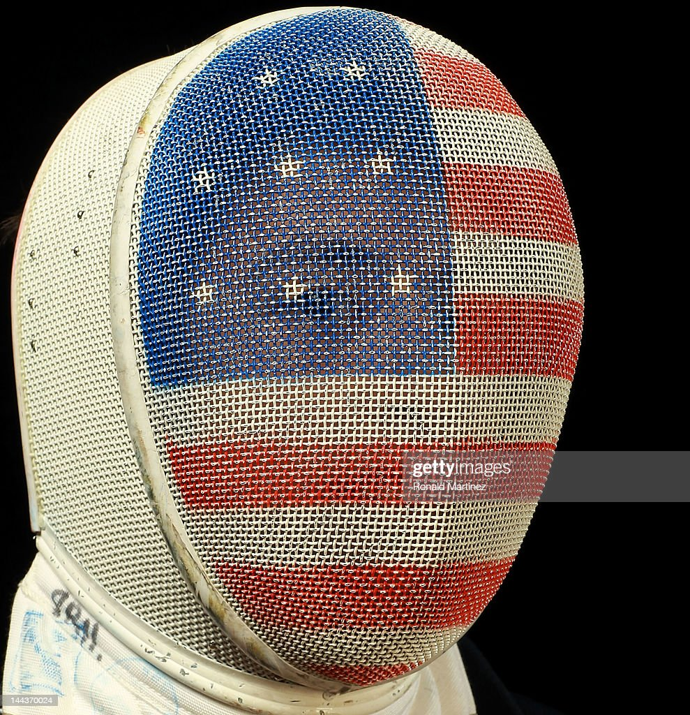Fencer Alexander Massialas poses for a portrait during the 2012 Team USA Media Summit on May 13, 2012 in Dallas, Texas.