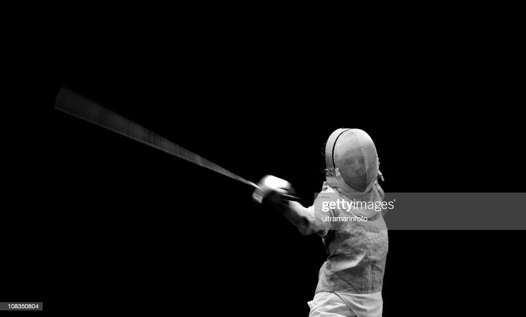 Fencer : Stock Photo