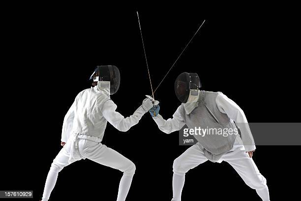 Fencers in Aktion