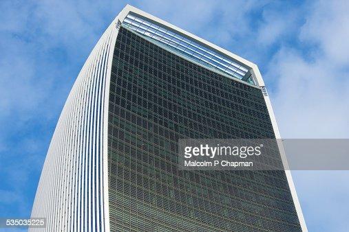 20 Fenchurch Street, WalkieTalkie building, London : Stock Photo