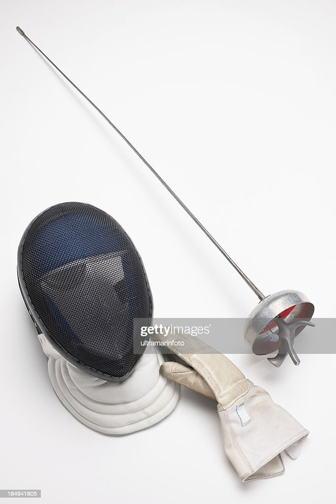 Fencing Equipment Stock Photo Getty Images