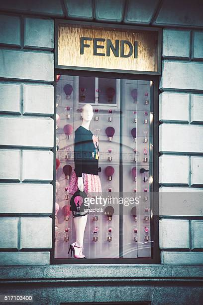 Fendi shopping finestra