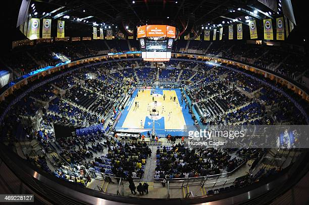 Fenerbahce Ulker Sports Arena during the 20132014 Turkish Airlines Euroleague Top 16 Date 6 game between Fenerbahce Ulker Istanbul v Laboral Kutxa...