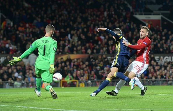 Manchester United vs Fenerbahce: UEFA Europa League : News Photo