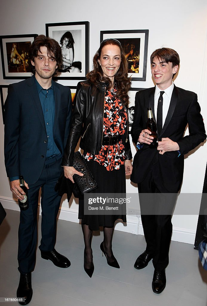 Fenton Bailey Catherine Bailey and Sascha Bailey attend a private view of 'Human Relations' featuring the photographs of Fenton Bailey and MairiLuise...