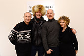Fenton Bailey Morgan Spurlock Randy Barbato and Sara Bernstein attend HBO Documentary Film 'Mapplethorpe Look At The Pictures' gallery reception at...