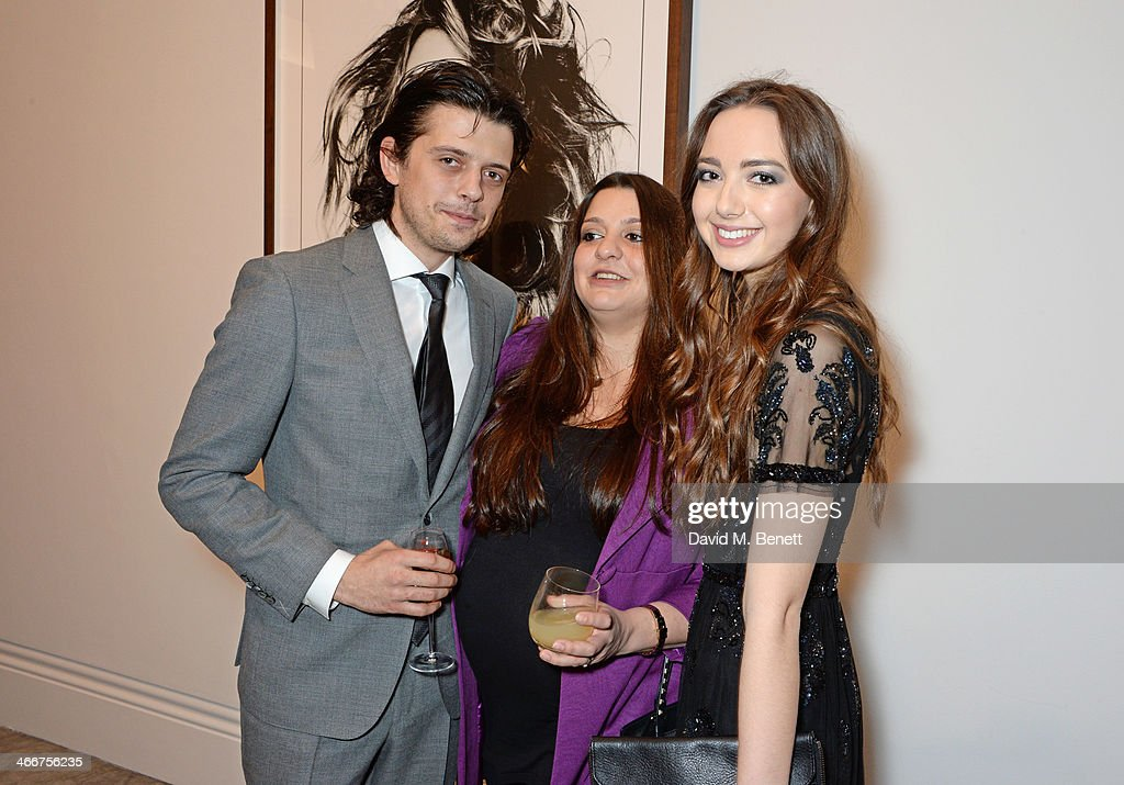 Fenton Bailey Paloma Bailey and Sarah Stanbury attend a private view of Bailey's Stardust a exhibition of images by David Bailey supported by Hugo...