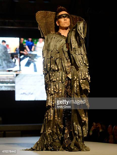 Fentress/Emser Tile entry for the 2015 PretaPorter fashion show Future Undefined hosted by the International Interior Design Association Rocky...