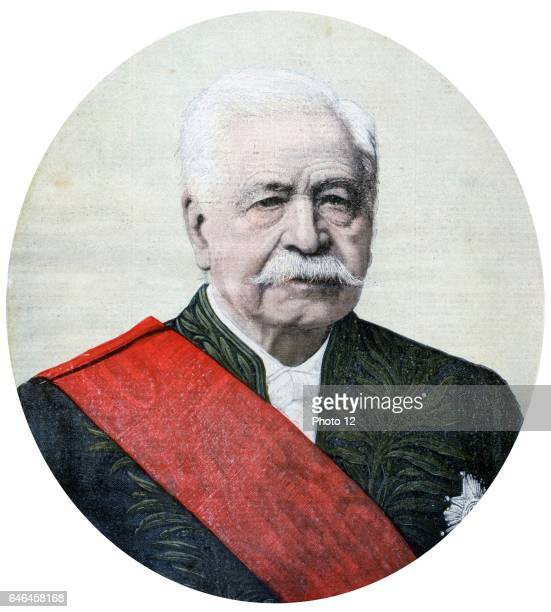 Ferdinand de Lesseps French diplomat and promoter of the Suez Canal He failed in his attempt to complete a Panama Canal From 'Le Petit Journal' Paris...