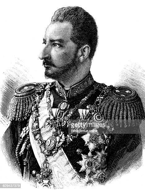 Ferdinand i of bulgaria 1861 1948 prince and king of bulgaria historical illustration circa 1893