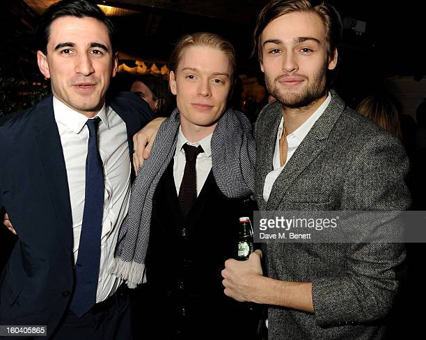 Ferdinand Kingsley Freddie Fox and Douglas Booth attend the InStyle Best Of British Talent party in association with Lancome and Avenue 32 at...