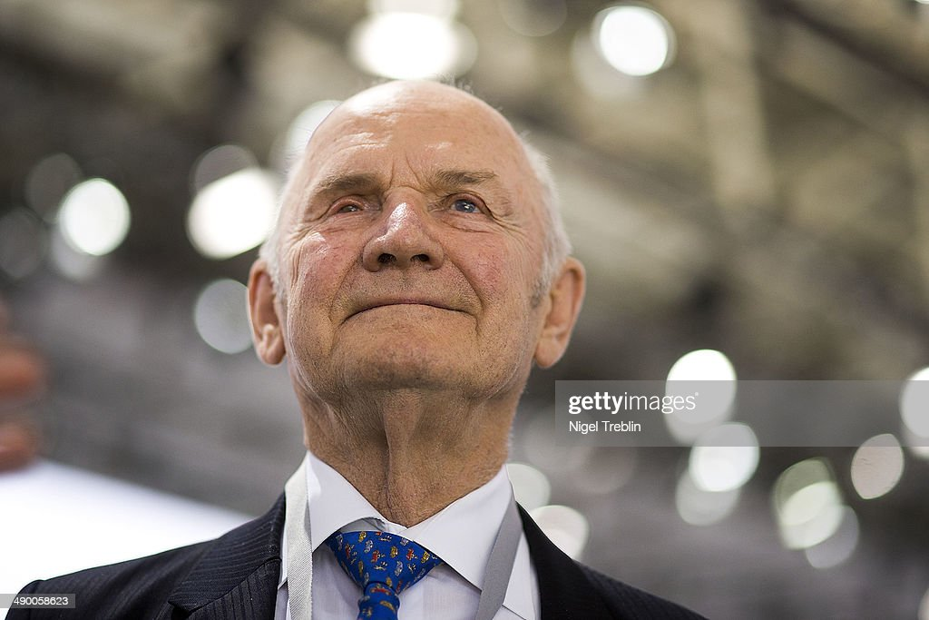 Ferdinand Piech, Chairman of the Supervisory Board of Volkwagen Group, is pictured ahead of Volkswagen annual shareholder meeting on May 13, 2014 in Hanover, Germany. Volkswagen presents the newest company results at the annual shareholder meeting.