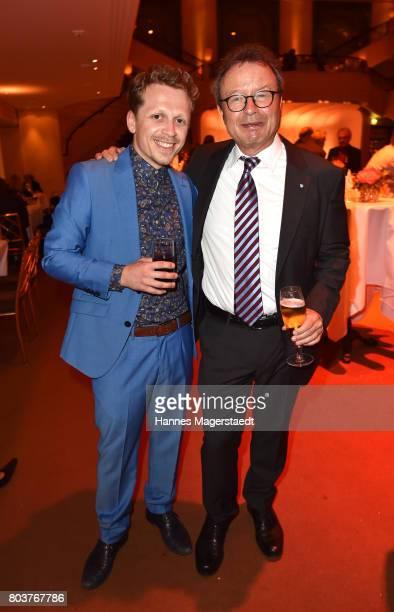 Ferdinand SchmidtModrow and Klaus Schaefer attend the Bernhard Wicki Award 2017 during the Munich Film Festival 2017 at Bayerischer Hof on June 29...