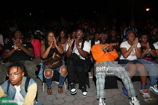 Ferg and Lil Yachty attend the 'I Am Not Your Negro' And A$AP Ferg Where Stars Are Born' New York Screening on August 19 2017 in New York City