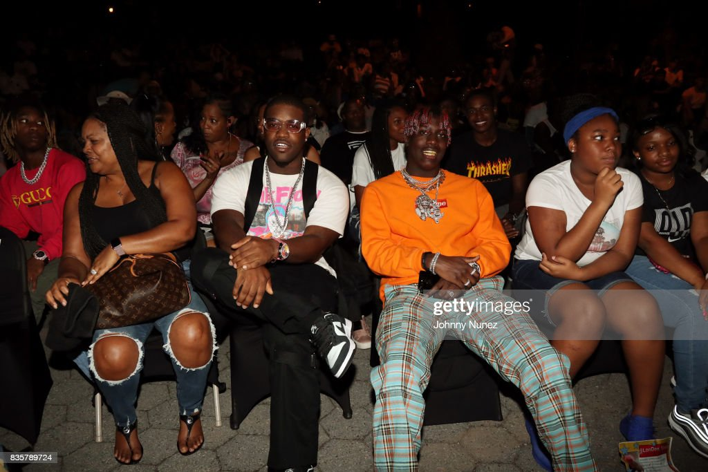 Ferg (2nd L) and Lil Yachty (2nd r) attend the 'I Am Not Your Negro' And A$AP Ferg: Where Stars Are Born' New York Screening on August 19, 2017 in New York City.