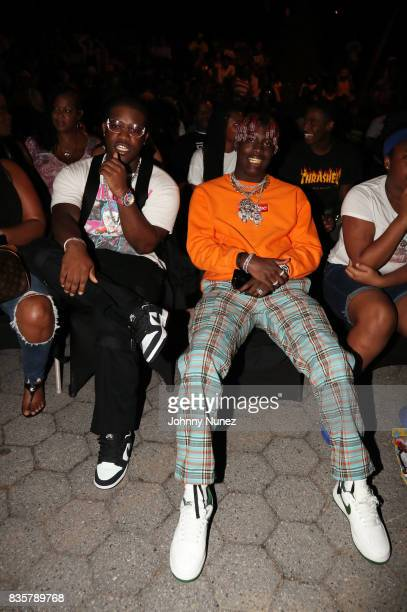 A$AP Ferg and Lil Yachty attend the 'I Am Not Your Negro' And A$AP Ferg Where Stars Are Born' New York Screening on August 19 2017 in New York City