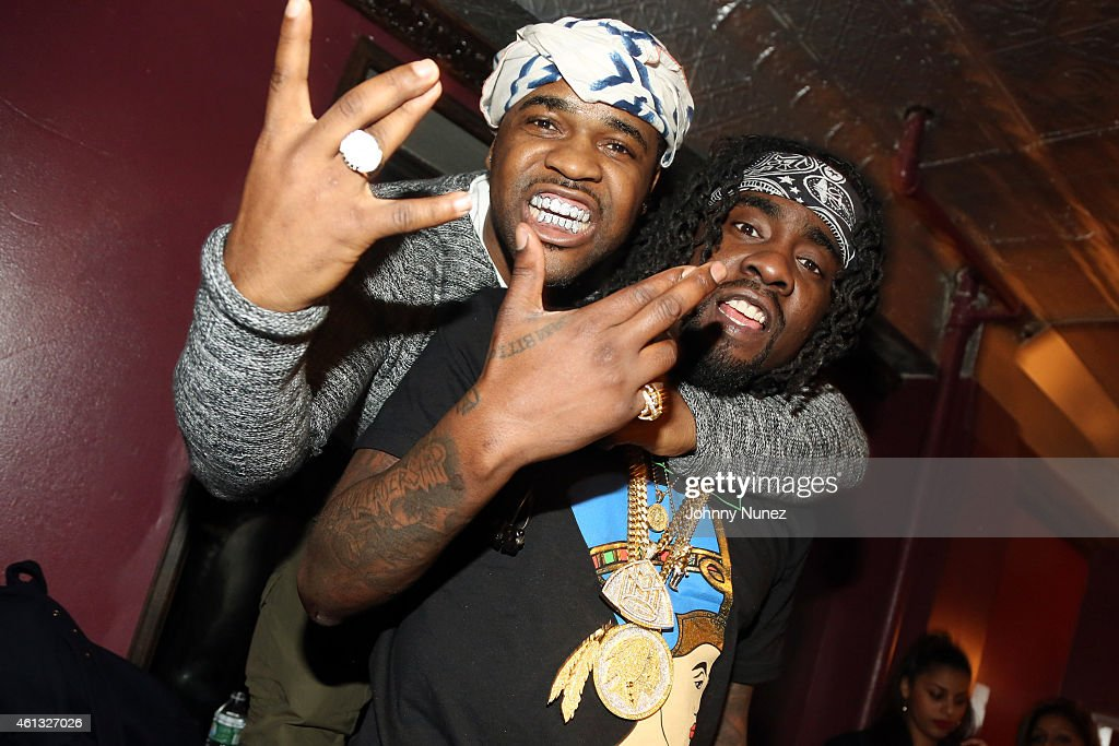 A$AP Ferg and Wale attend Irving Plaza on January 10 in New York City