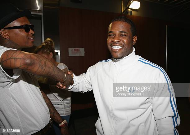 Ferg and YG attend the 2016 BET Experience Staples Center Concert Presented by Sprite Performances by LIL WAYNE 2 CHAINZ TORY LANEZ A$AP FERG FETTY...