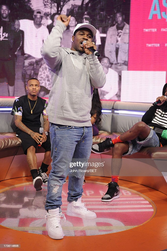 Ferg at BET's 106 & Park at BET Studios on July 15, 2013 in New York City.