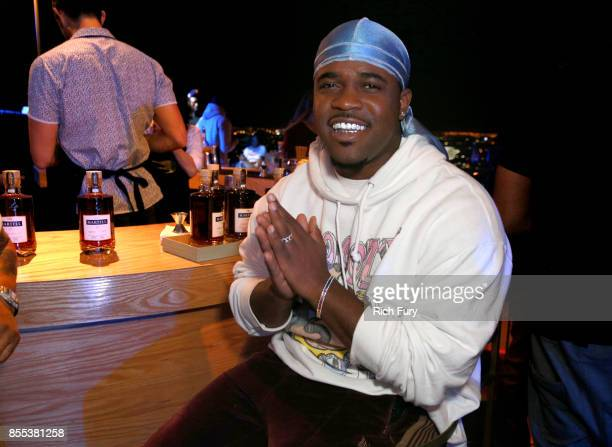 Ferg at HOME by Martell hosted by Jhene Aiko on September 28 2017 in Los Angeles California