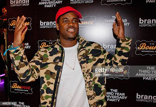 Ferg attends the 3yr Anniversary Party of Bounce Sporting Club on September 16 2014 in New York City