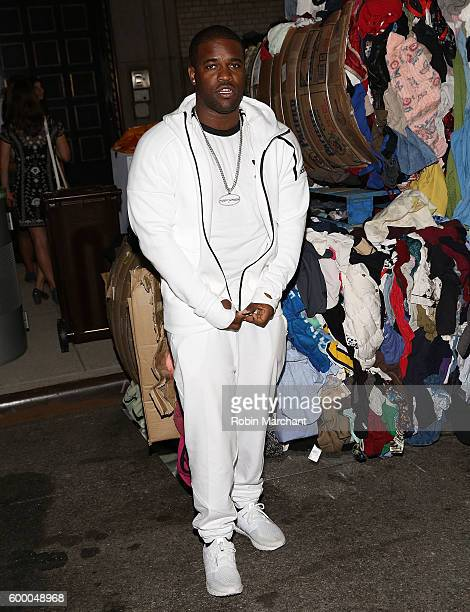 Ferg attends 'Uniform' Heron Preston For DSNY Presentation September 2016 during New York Fashion Week at DSNY Salt Shed on September 7 2016 in New...