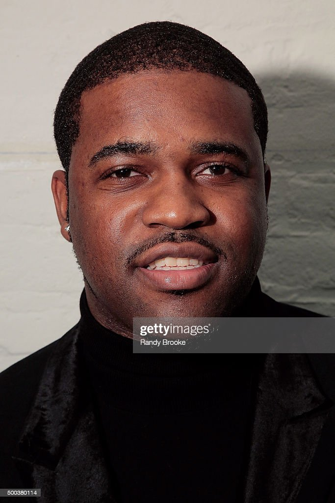 Ferg backstage at A$AP Ferg performs at Fancy's The Run Up on December 7 2015 in New York City