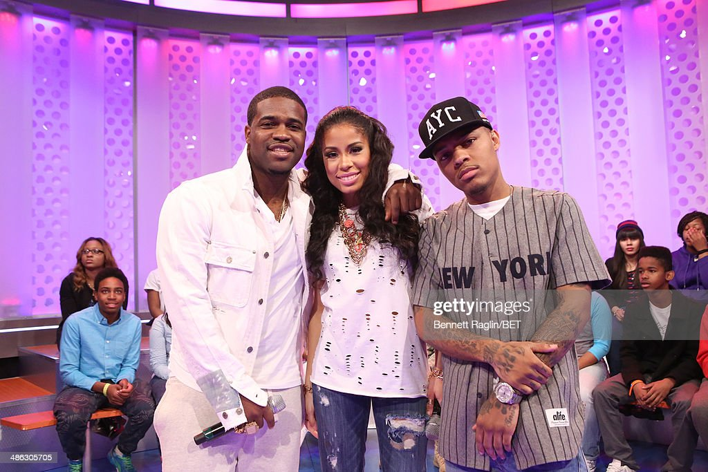 A$AP Ferg Keshia Chante and Bow Wow attend 106 Park at BET studio on April 21 2014 in New York City
