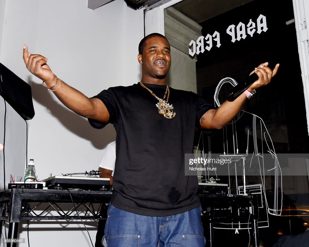 Ferg performs at Pop-Up Shop launch for clothing brand UNIFORM on August 18, 2017 in New York City.